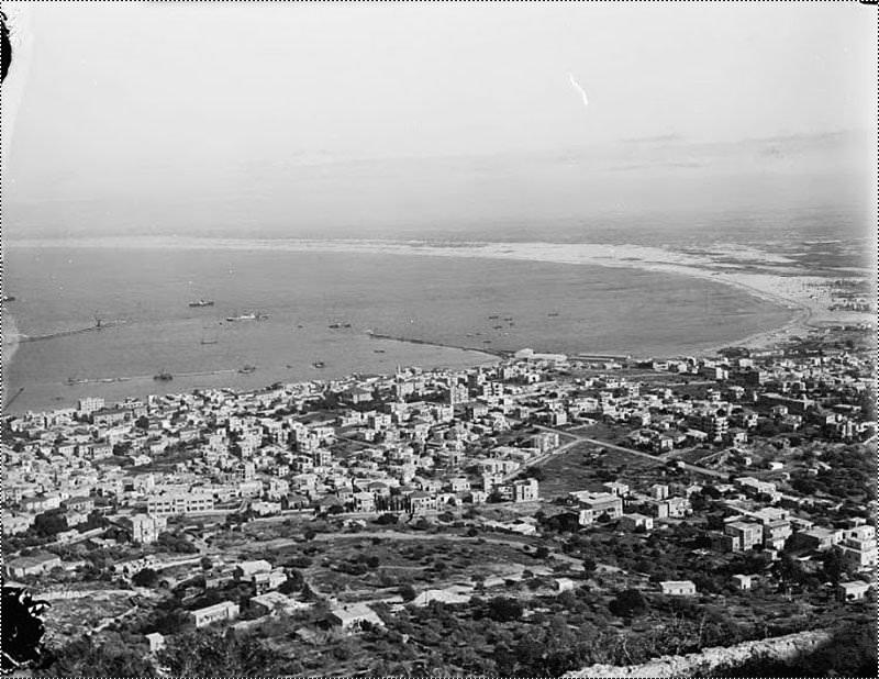 صورة لمظاهر الحياة في فلسطين قبل النكبة