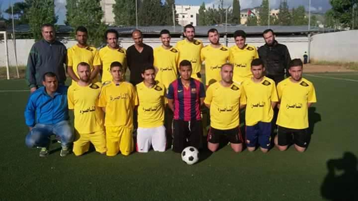 فوز نادي فلسطين على نادي الناصرة ضمن دورة حق العودة