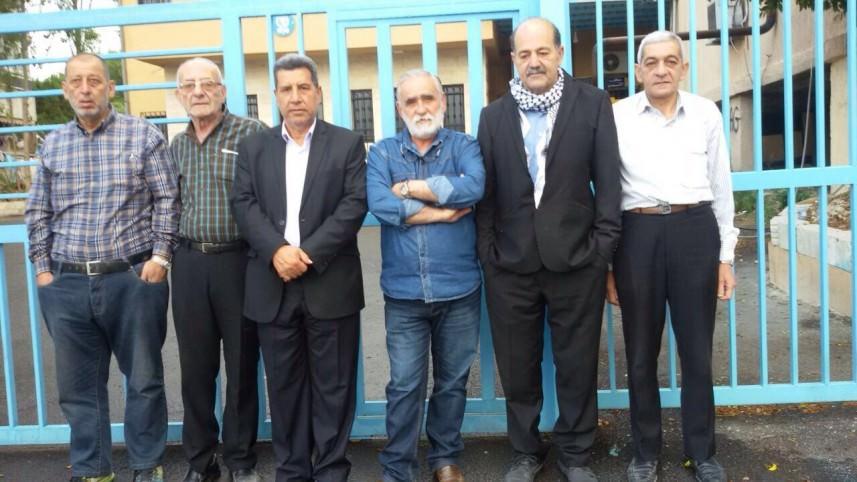 رفضاً لتقليص خدمات الأونروا تم إغلاق مكاتبها في المخيمات الفلسطينية