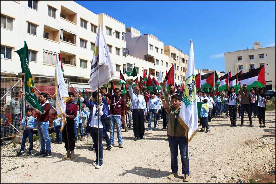 مجموعة يافا الكشفية ومجموعات نهر البارد تنطلق بمسيرات كشفية