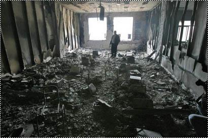 صور مباني فلسطينية .. كانت مباني ..!