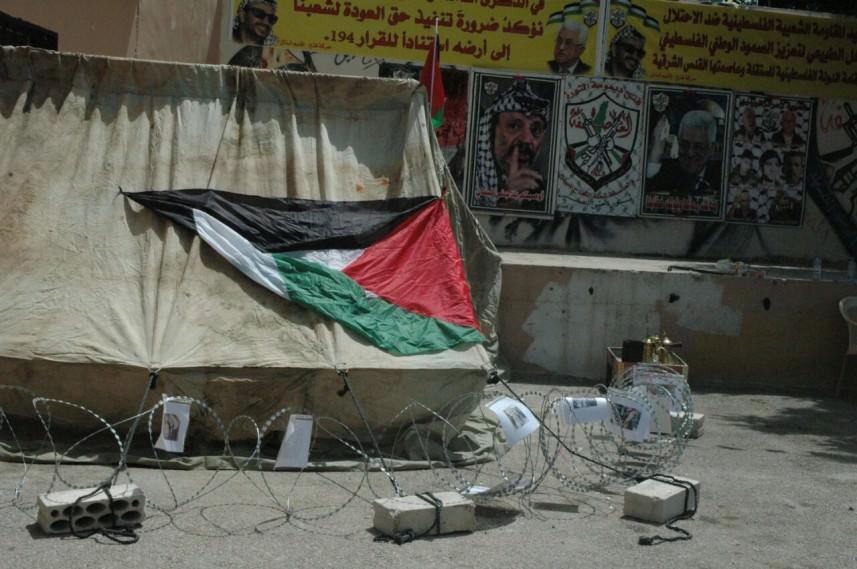المخيمات الفلسطينية تحيي ذكرى النكبة