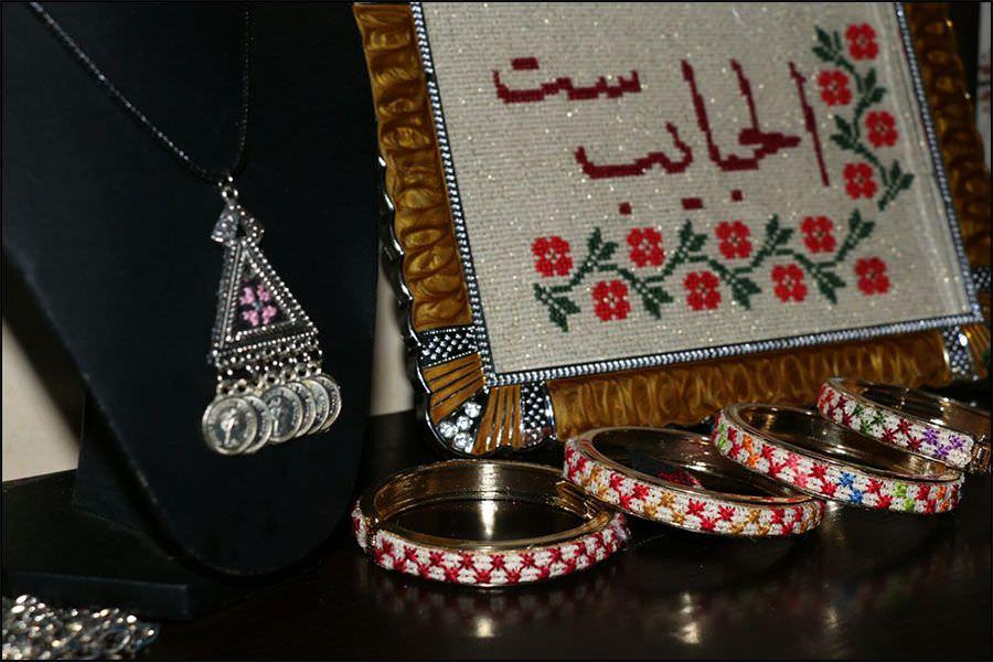 مطرزات فلسطينية