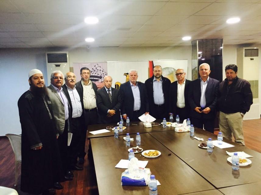 اجتماع لقيادة الفصائل في السفارة الفلسطينية ببيروت