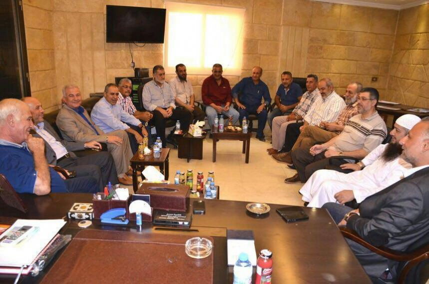 اللجنة الأمنية الفلسطينية تزور قيادة أمل والعلامة الأمين في صيدا