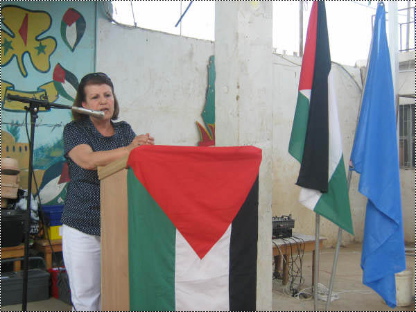 حفل تخريج للدورات المهني في مخيم البداوي