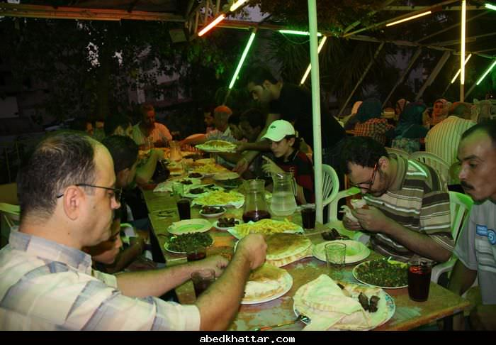 حفل افطار رمضاني لمجموعة المناصرة لدعم الاشخاص ذوي الاعاقة