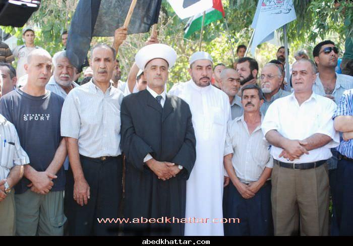 مسيرة جماهيرية بمناسبة يوم القدس العالمي [2010] في مخيم البداوي
