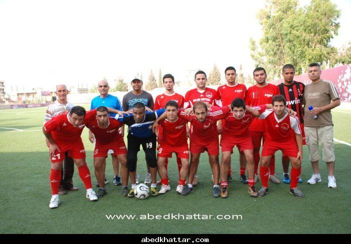 لقاء رياضي بين فريق الهلال الفلسطيني والسلام زغرتا اللبناني على كأس فضية