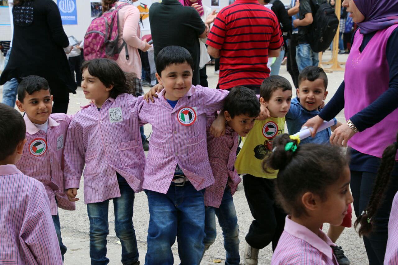 صور من معسكر النكبة 12 في ثانوية الناصرة - مخيم البداوي