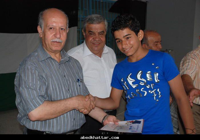 نظم اتحاد الشباب مهرجان طلابي تكريما للطلبة الناجحين في البداوي