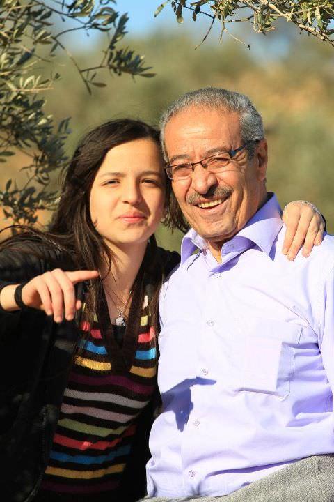 المناضل الكبير تيسير خالد كان في زيارة قريوت
