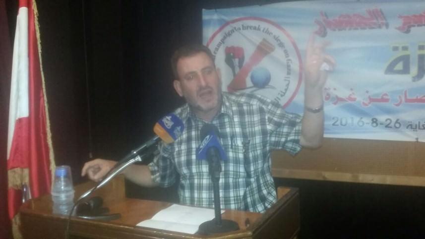 مهرجان تضامني في طرابلس لكسر الحصار عن غزة