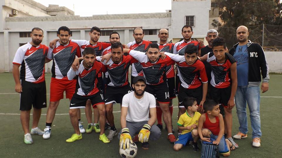 فوز نادي الضفة على نادي الدره ضمن دورة حق العودة