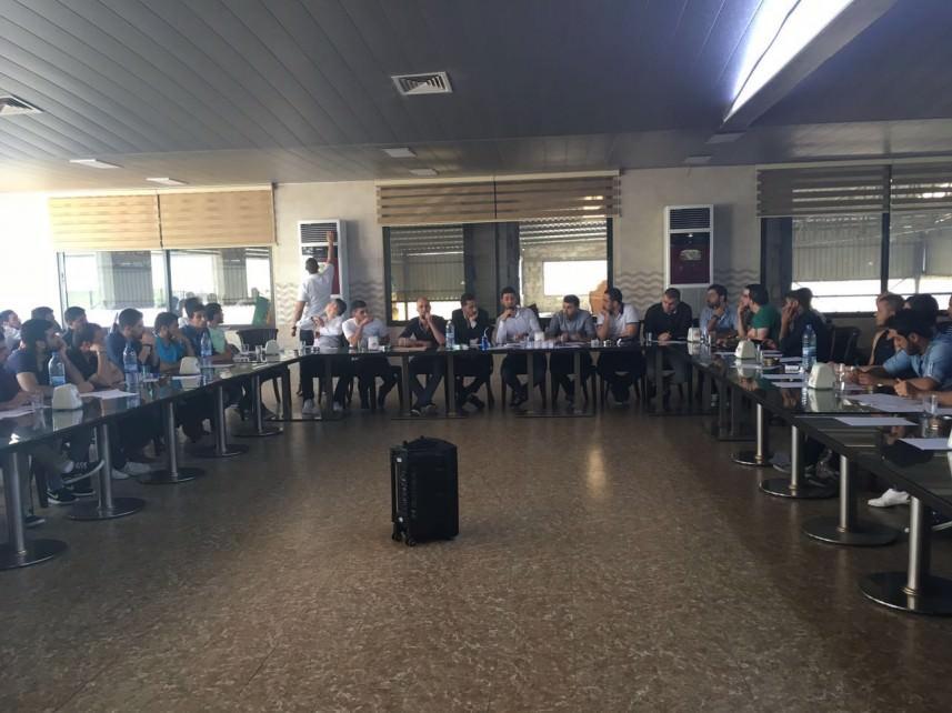 تجمع الخريجين الفلسطينيين يعقد اجتماعه التأسسي الثاني في البداوي