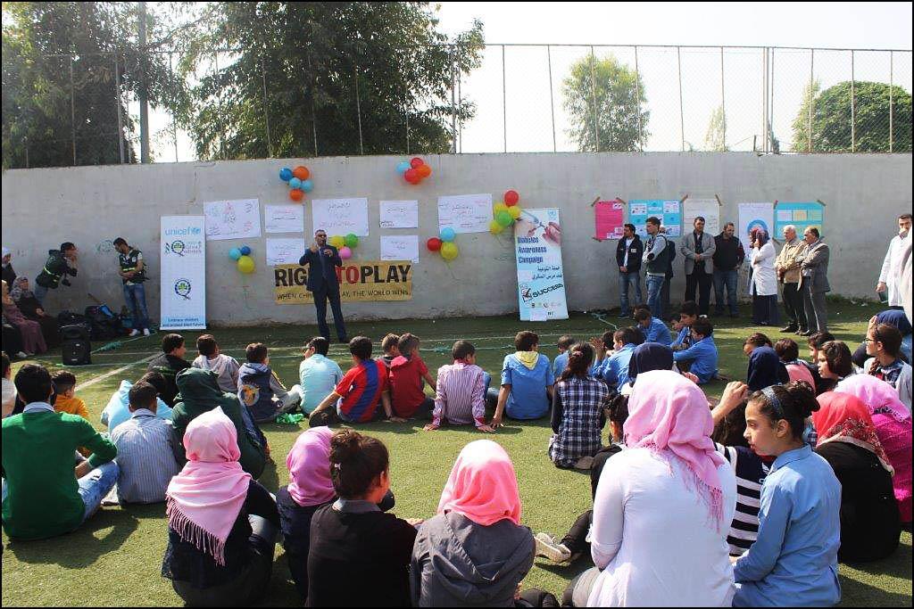 عيادة مخيم البداوي تحيي يوم الصحة العالمي تحت شعار [ إهزم السكري ]