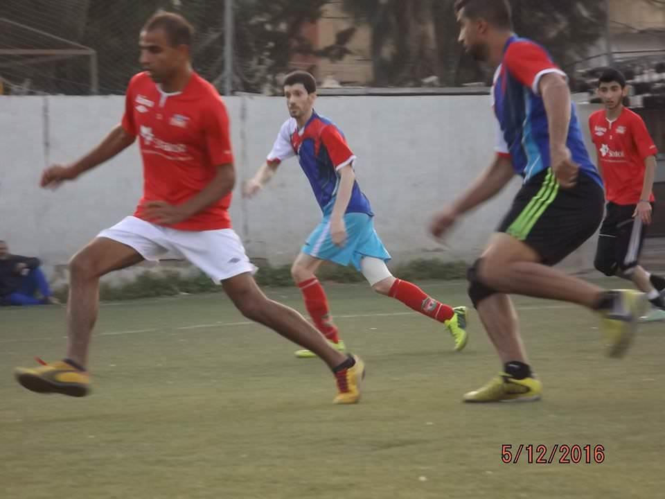 فوز نادي الخليل على نادي الاجيال ضمن دورة حق العودة