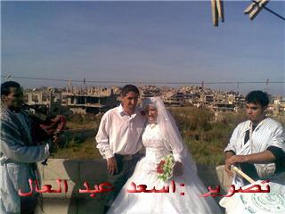 العرس الأول في مخيم نهر البارد