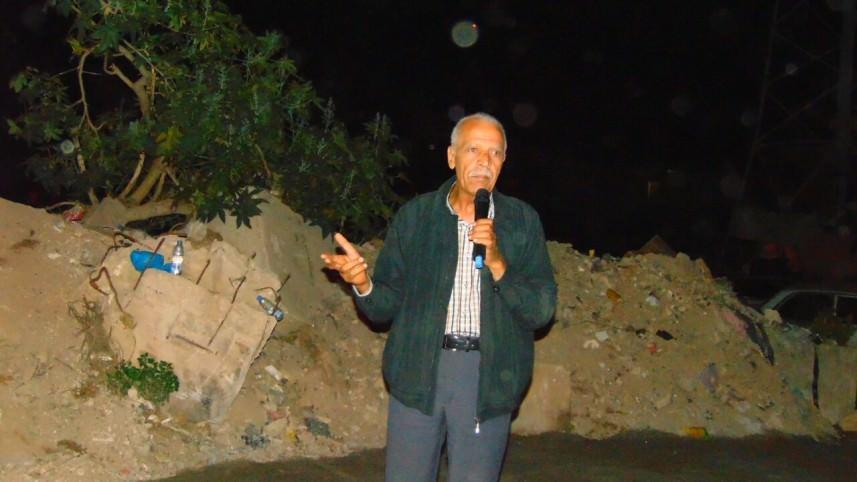 عرض فيلم إحياءً ليوم الأسير الفلسطيني في مخيم برج الشمالي