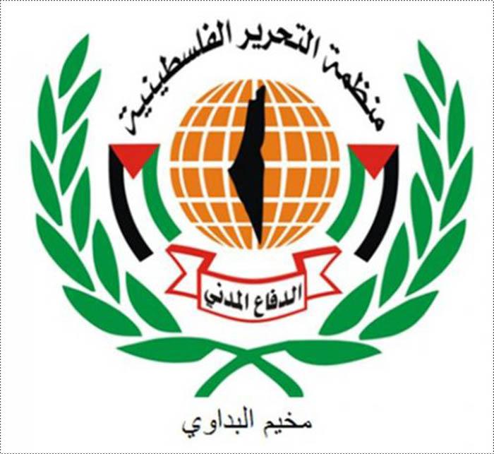 الدفاع المدني الفلسطيني في مخيم البداوي
