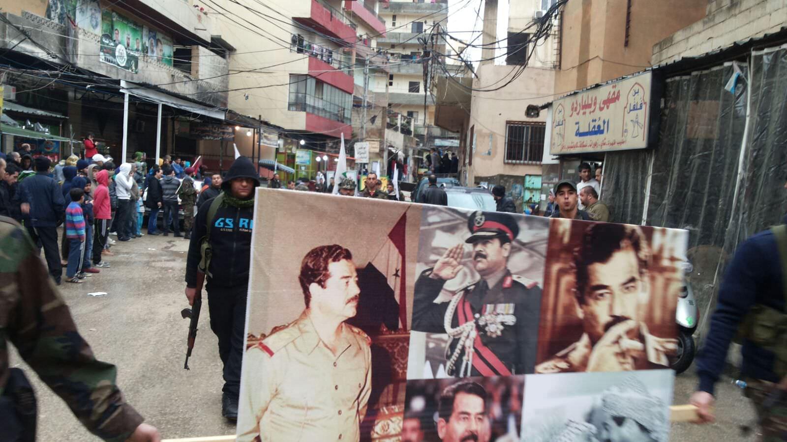 صور من احياء الذكرى التاسعة لاستشهاد القائد صدام حسين في البداوي