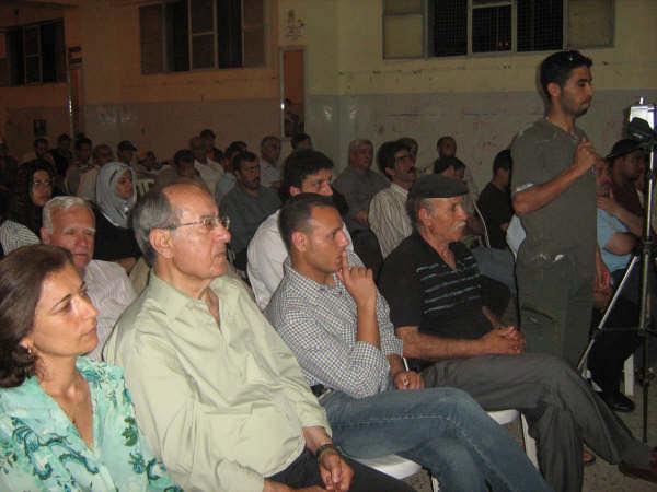 في أمسية للنادي الثقافي الفلسطيني العربي مخيم البداوي